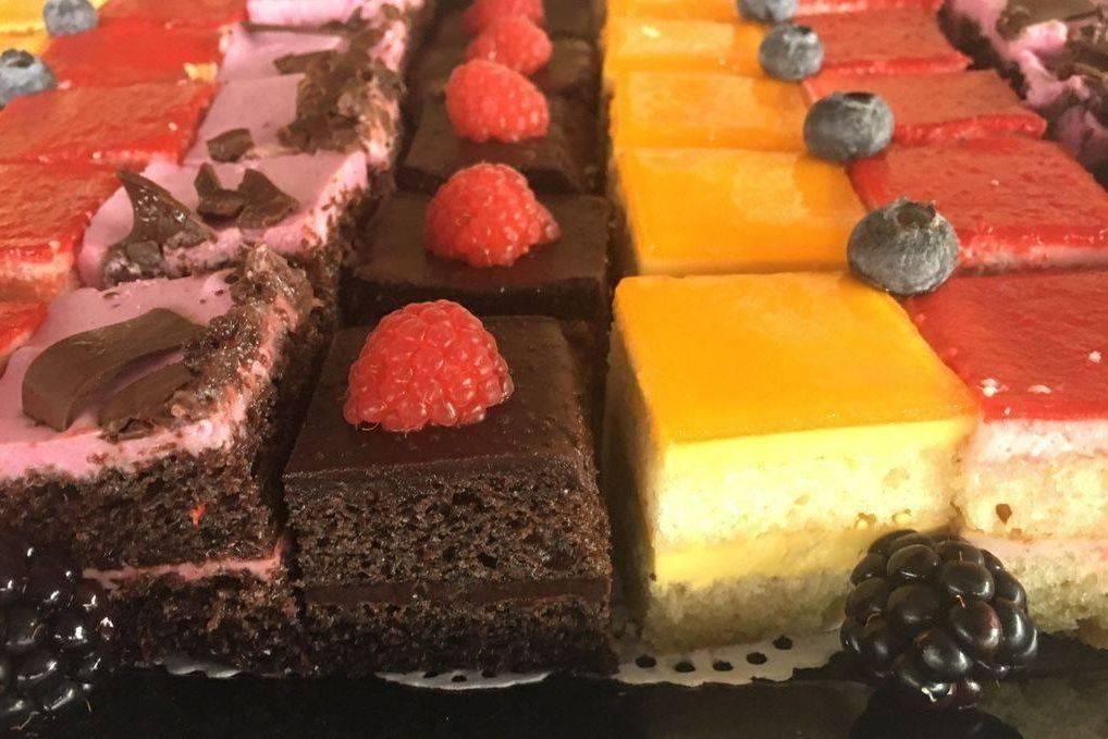 Euro Cake Bite Platter