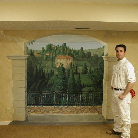 Wall mural artist, hand painted wall murals, Muralist, Cincinnati Ohio