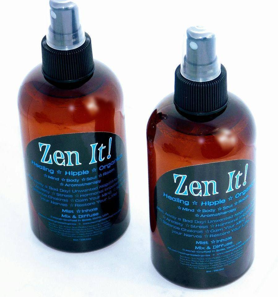 stress relief, anxiety relief, zen it, essential oils, natural remedy, healing hippie organics, Boise, Idaho