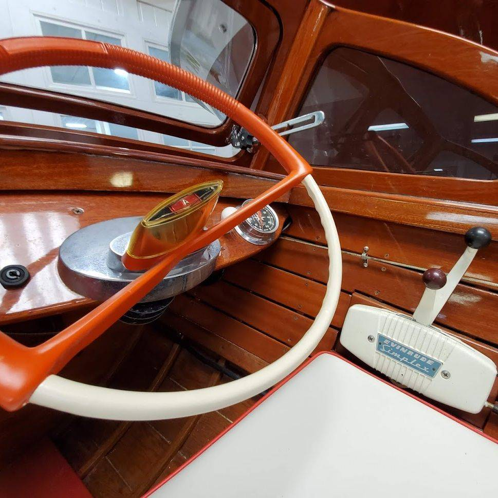 1959 15' Lyman Runabout for Sale at Bergersen Boat Co