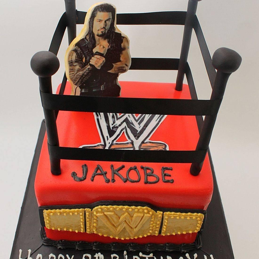 Wrestling Ring Cake Dimensional Cake Milwaukee