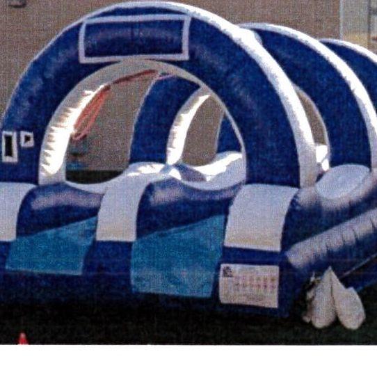 Wave Dual Lane Slip-n-Slide 15'x30'