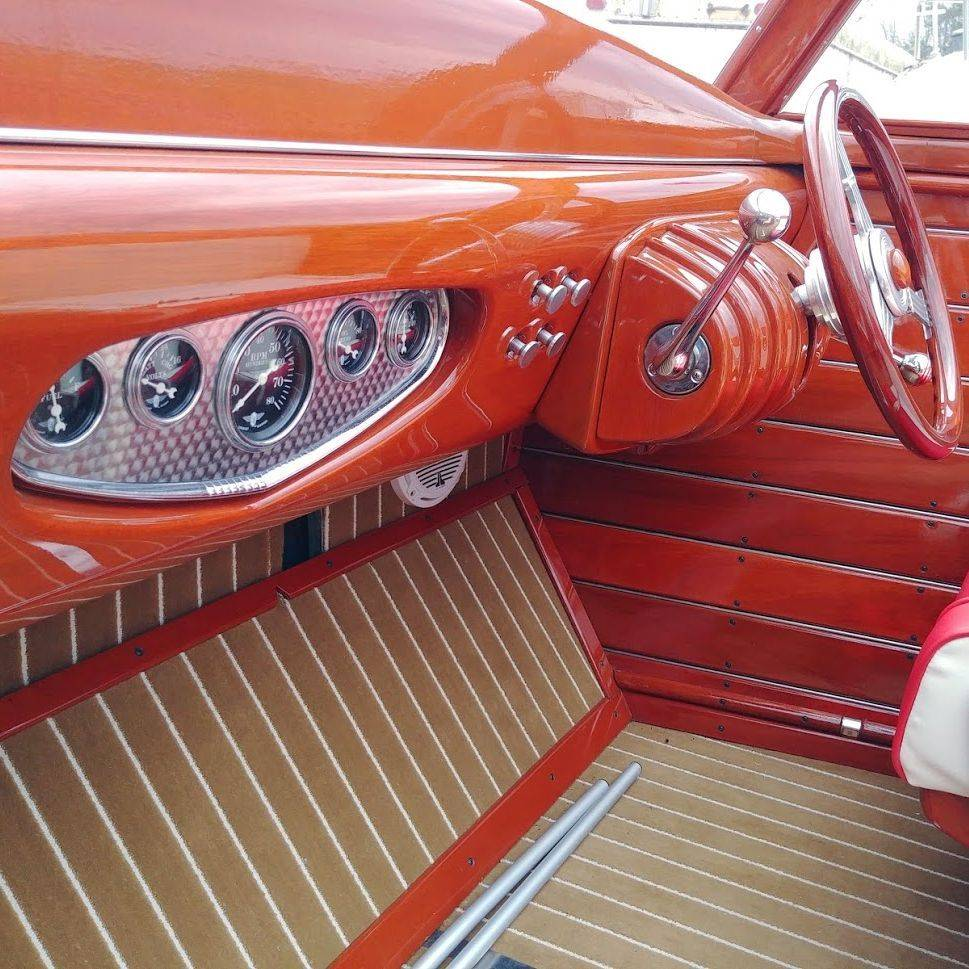 Custom Wood Boat for Sale Lake Geneva, WI