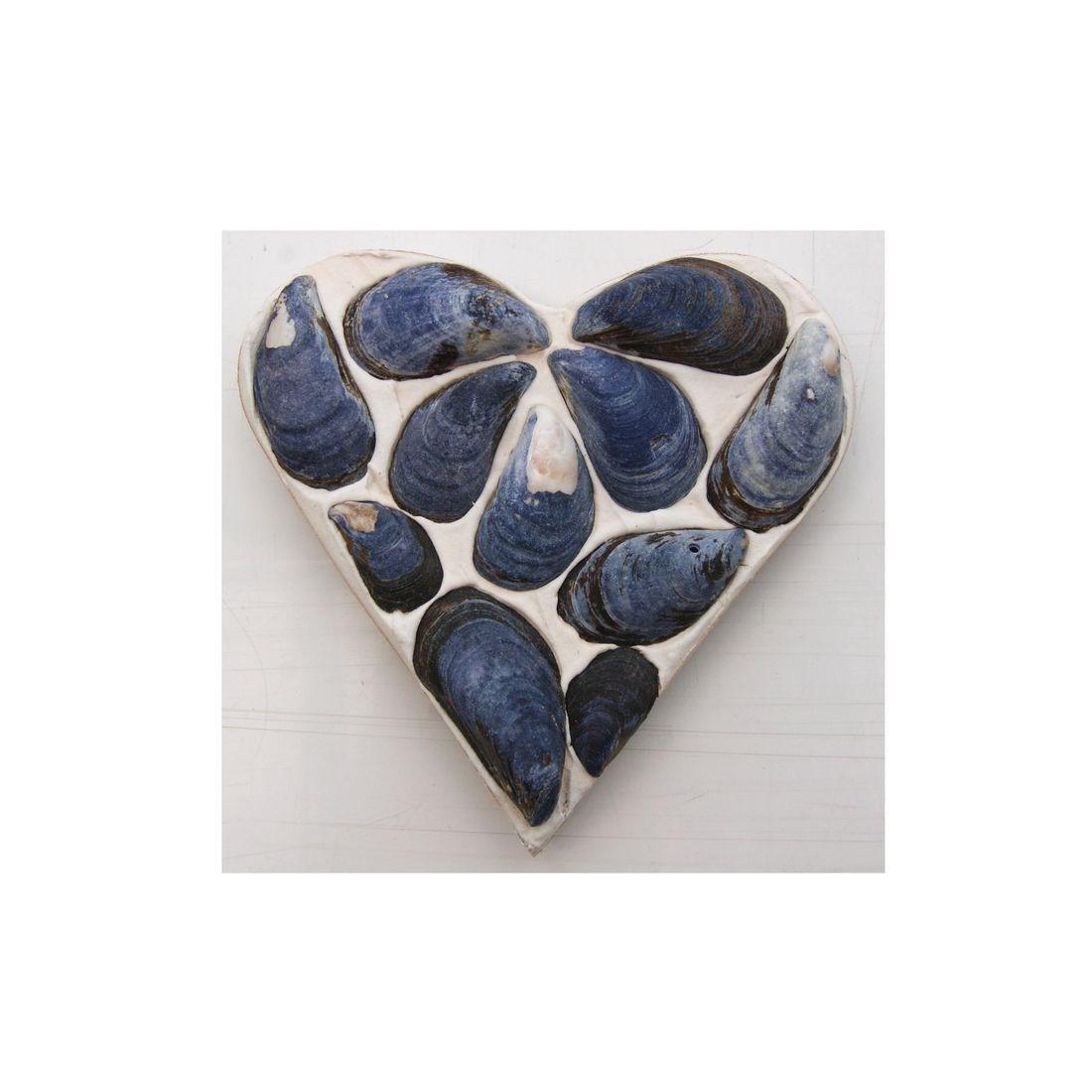 Fridge magnet blue heart