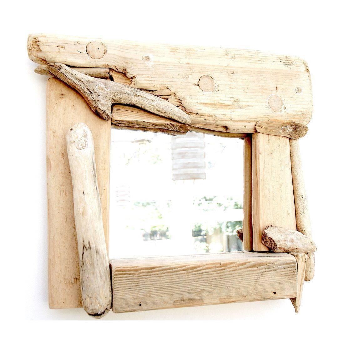 Driftwood Mirror 30