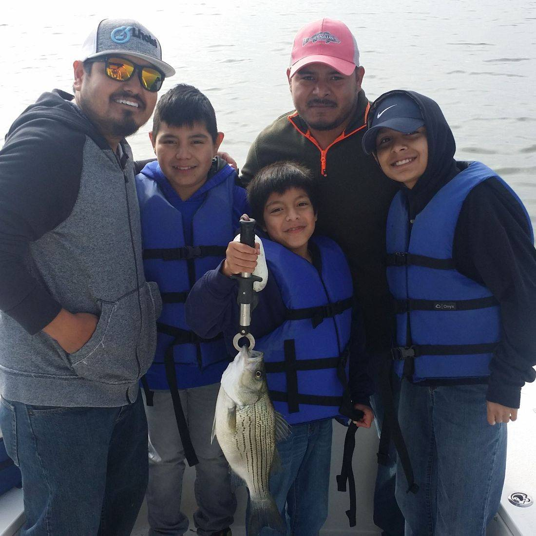 Bones Fishing Guide Service providing some fantastic redfish and striped bass fishing. San Antonio offers some amazing at Brauning Lake, Calaveras Lake and Canyon Lake.