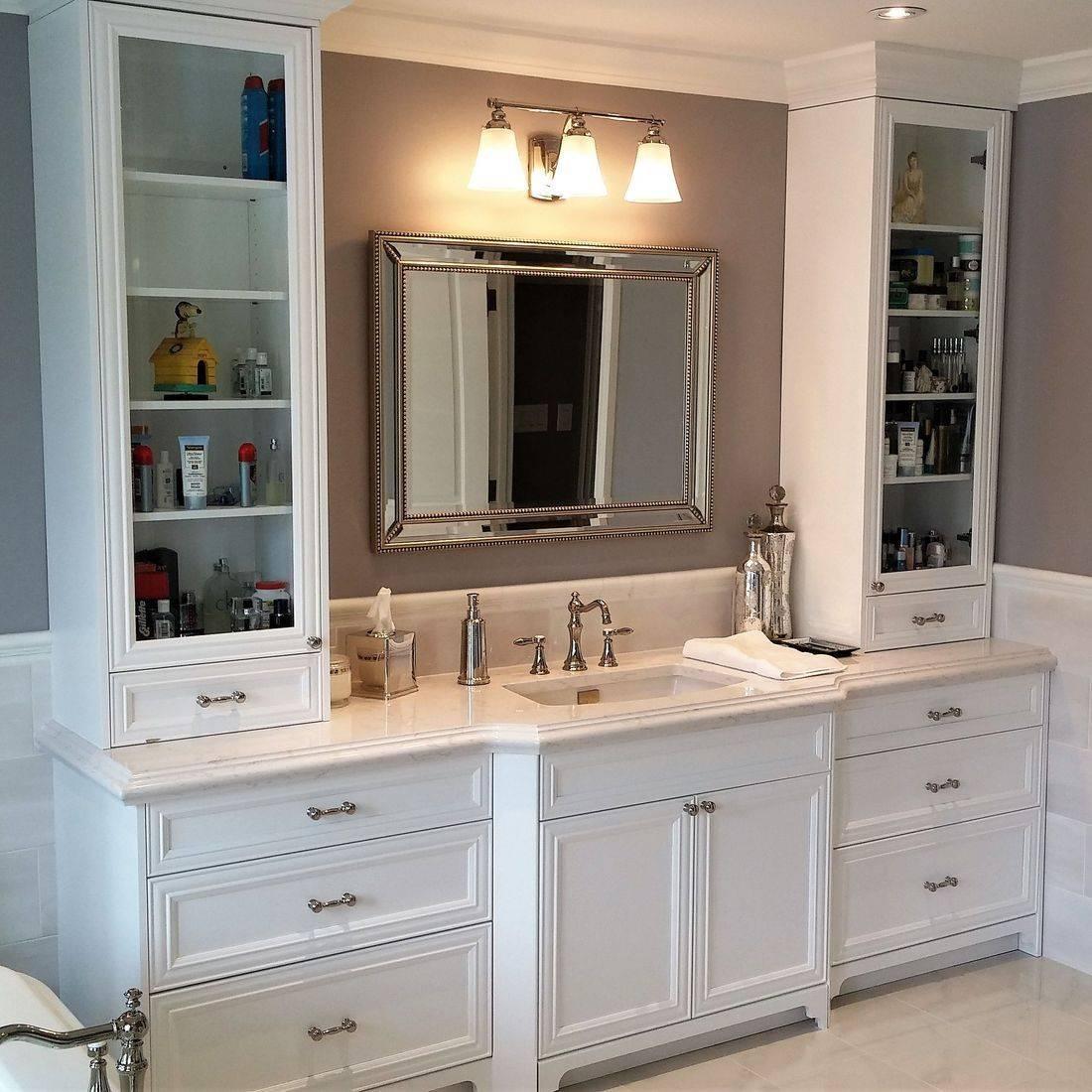 Sibra Kitchens Markham Toronto cabinets bathroom vanity cambria quartz