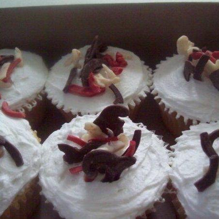Art-deco cupcakes