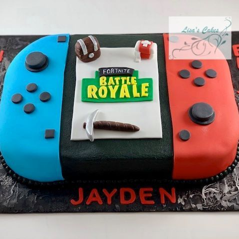 Fortnite Nintendo Switch Cake