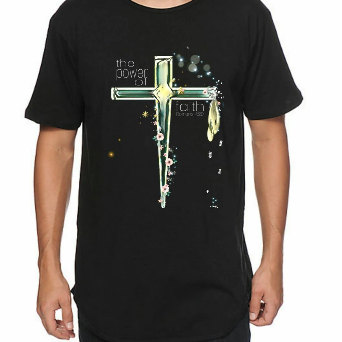 White Wolf Clothing. Christian T-Shirts - POWER OF FAITH