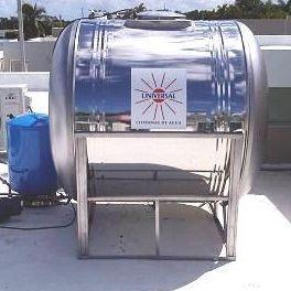 cisterna 600 galones instalada