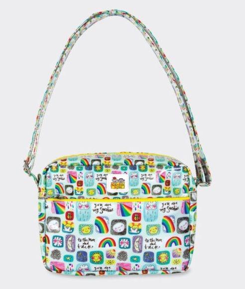 children bag sun moon rainbow