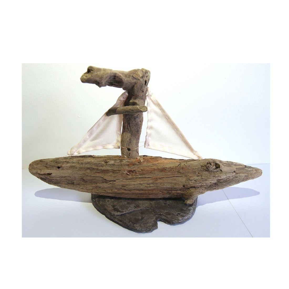 Driftwood boat 7