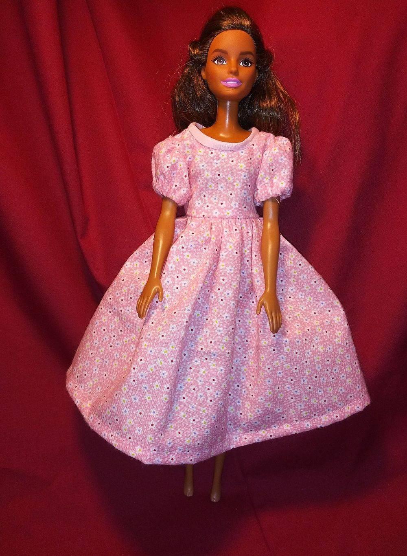Barbie Clothes, Barbie Dress, Handmade Doll Clothes, Barbie Wardrobe