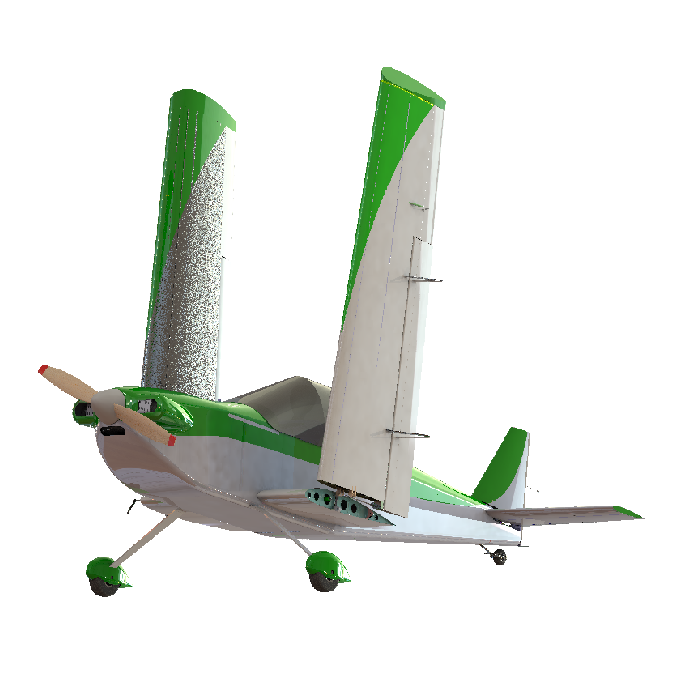 Single Seat Microlight, SSDR aircraft.