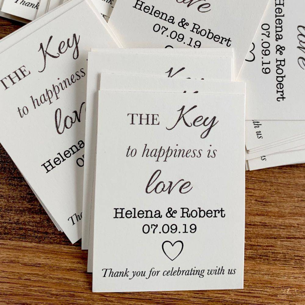 Name Tags for favours