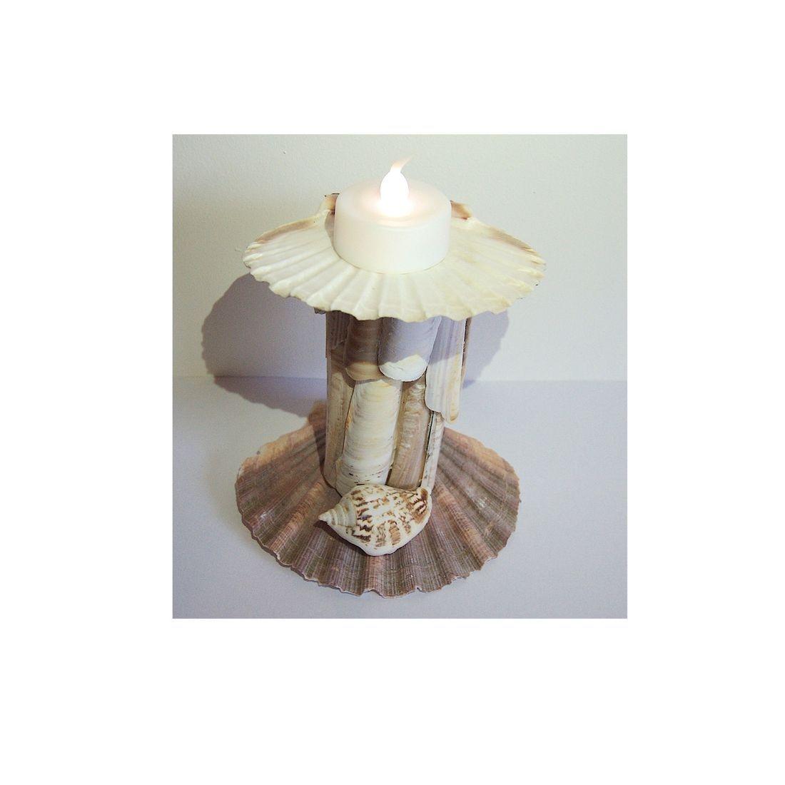 Driftwood candle tea light holder 14