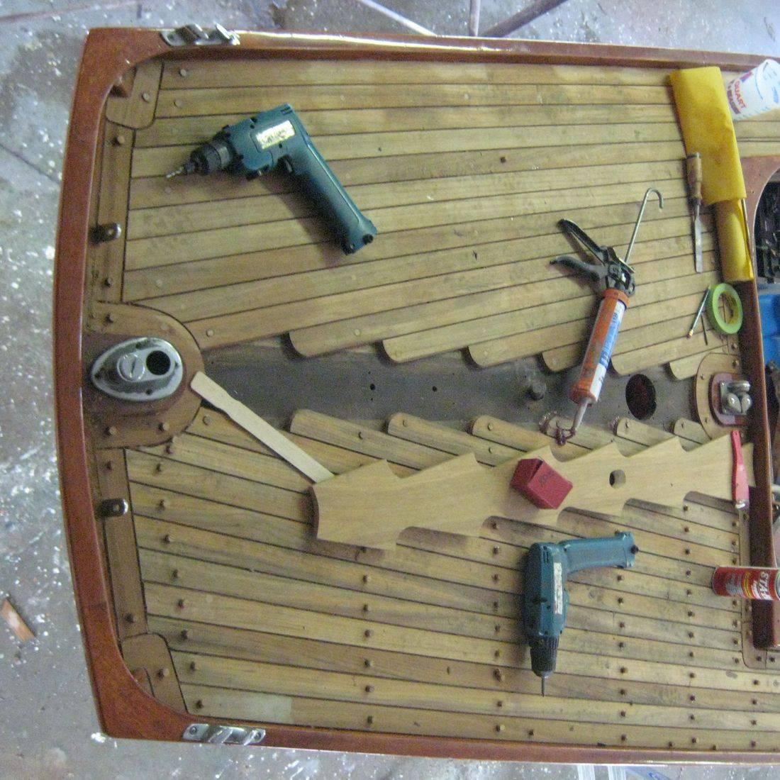 New deck by Bergersen Boat