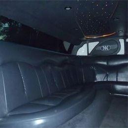 Inside the 8 Passenger Limousine Napa Sonoma Wine Tasting Driver.