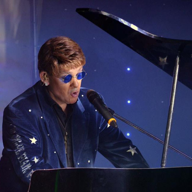 Elton John Tribute act  Andy Crosbie  Rocketman +