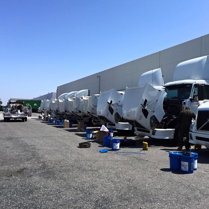 Truck Repair Los Angeles Port