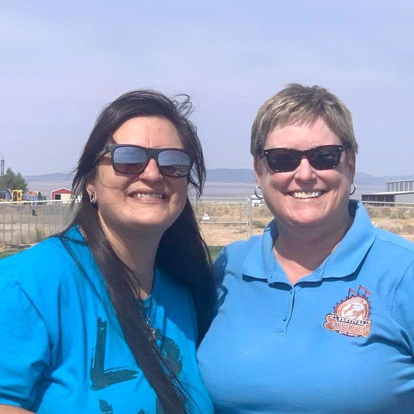 Festival Country K9s volunteers, two women