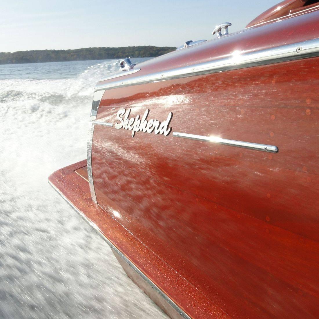 Shepherd wood boats lake geneva