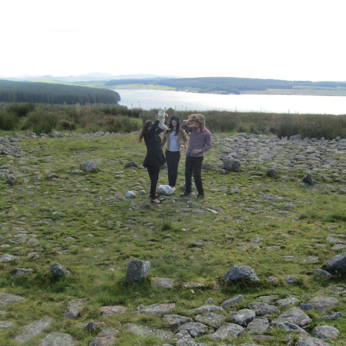 Earthmoves stone circle Wales Neolithic sacred tour