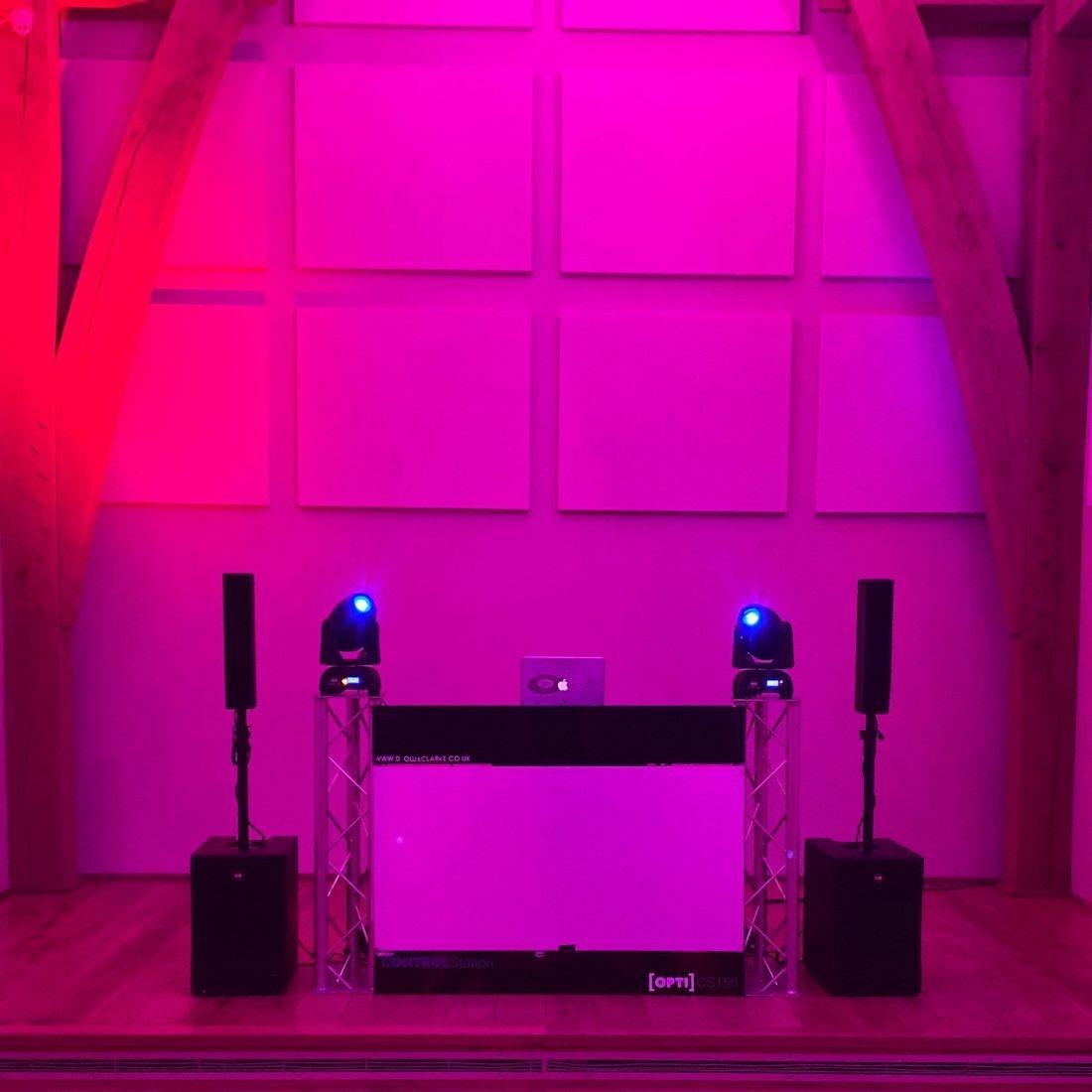 The Mill Barns Wedding Venue DJ Ollie Clarke wedding