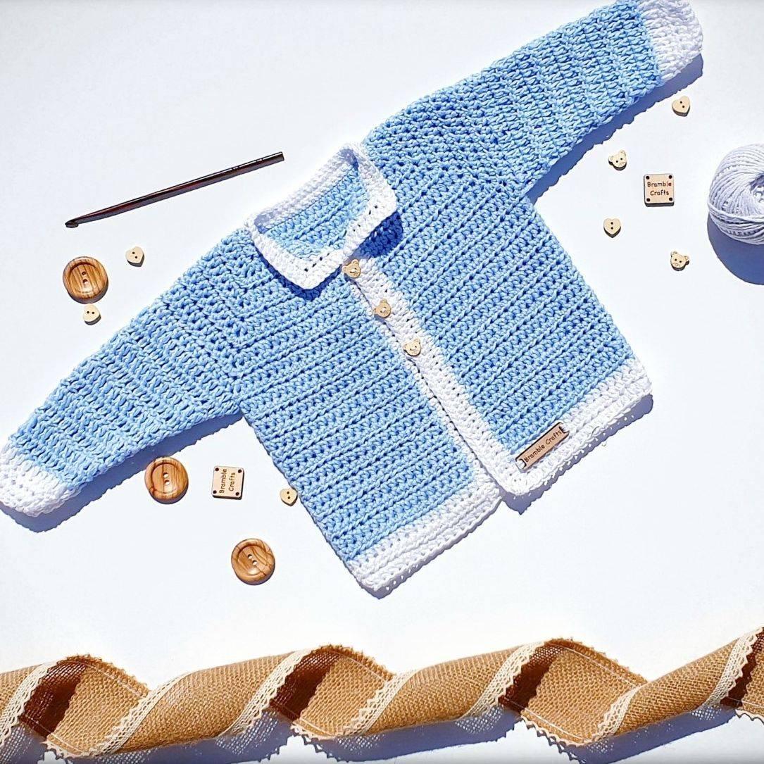 vegan crochet, newborn cardigan, crochet cardigan, newborn gift