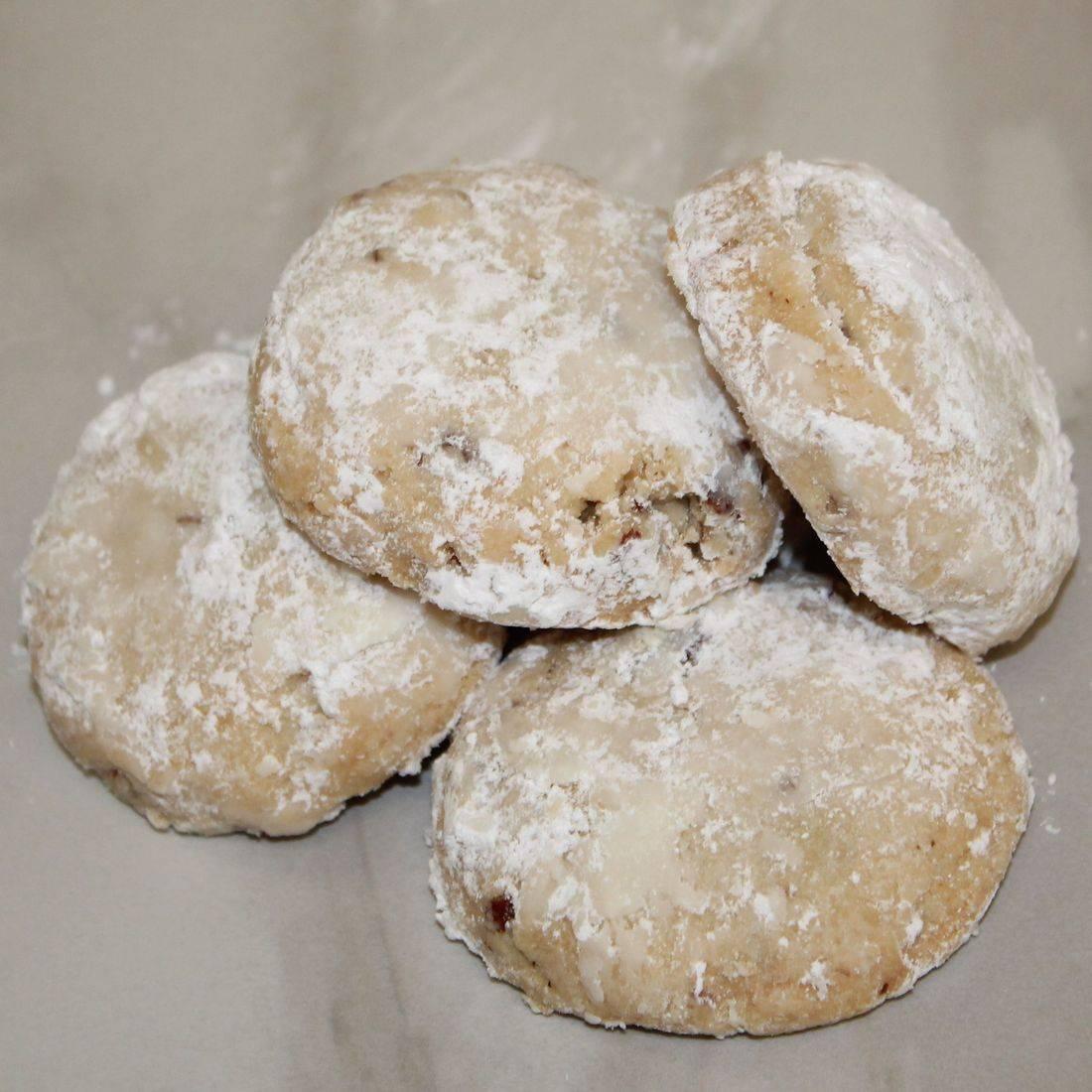 Sand Dollar Cookies, Mexican Wedding Cookies