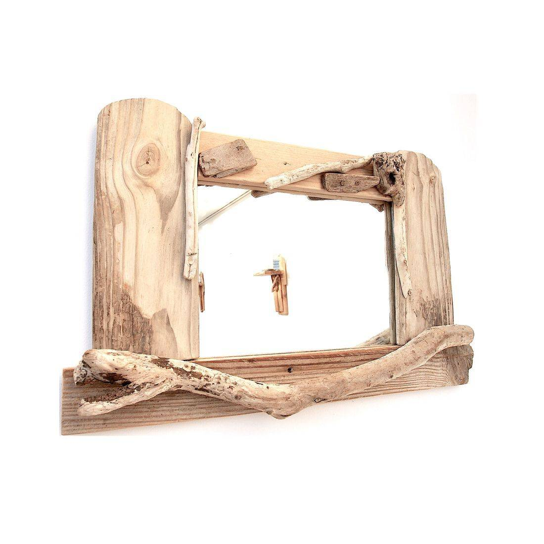 Driftwood Mirror 21