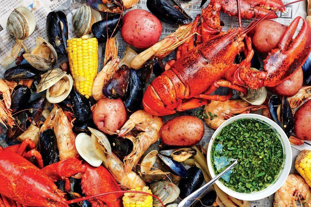 This is the Arista shrimp shellfish boil