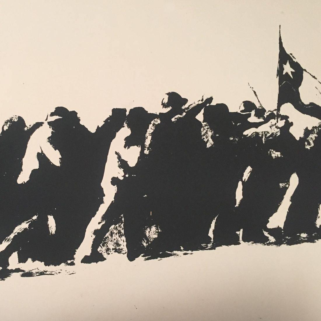 Jose Balmes, Camino de victoria, Paris 1977,  print, #40/60
