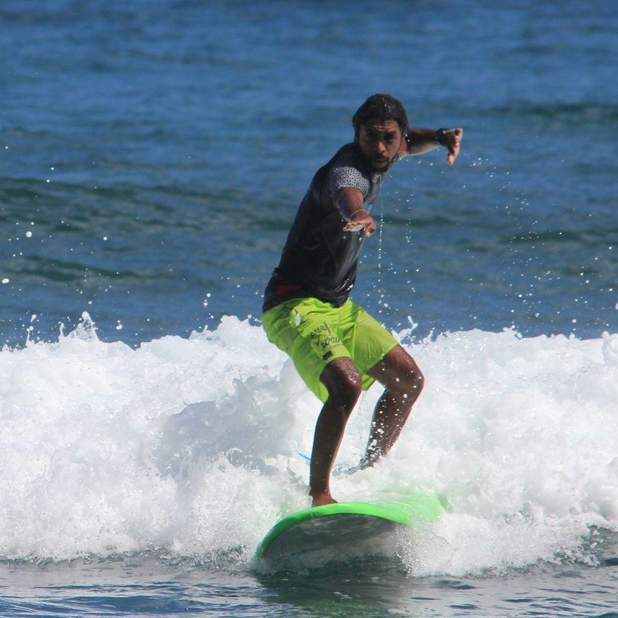 Surf, Martinique, Cours de surf, Tartane