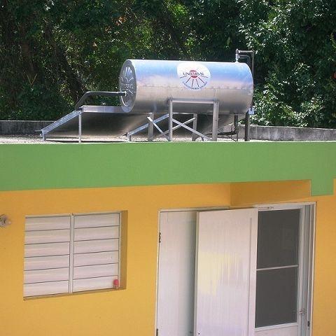 Head Start, calentador solar instalado