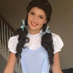 Wizard of Oz Dorothy character for birthday parties in San Antonio
