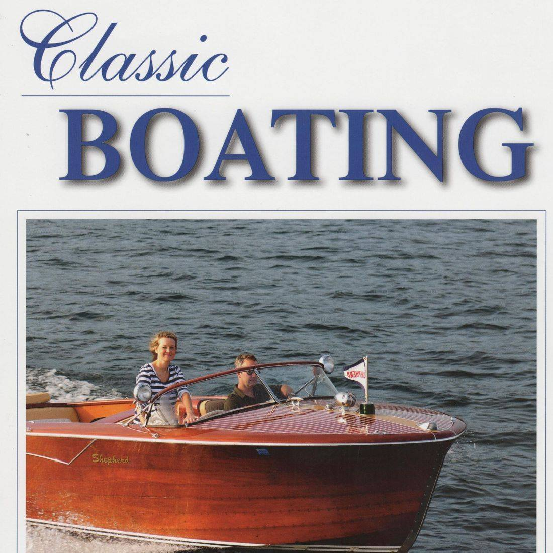 Bergersen wood boat restoration on Classic Boating Cover