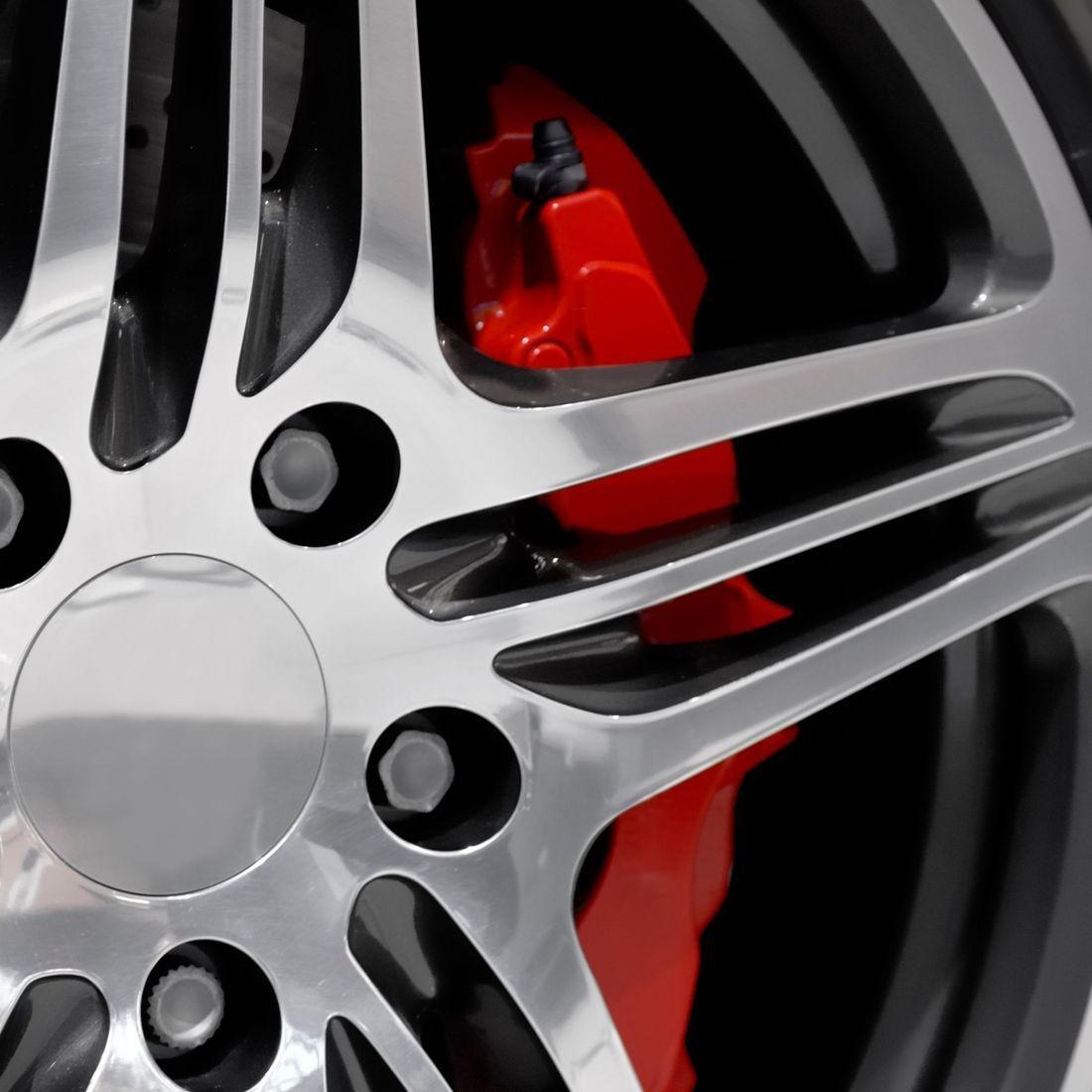 Wheel and Brake Calliper