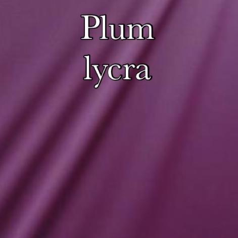 plum lycra