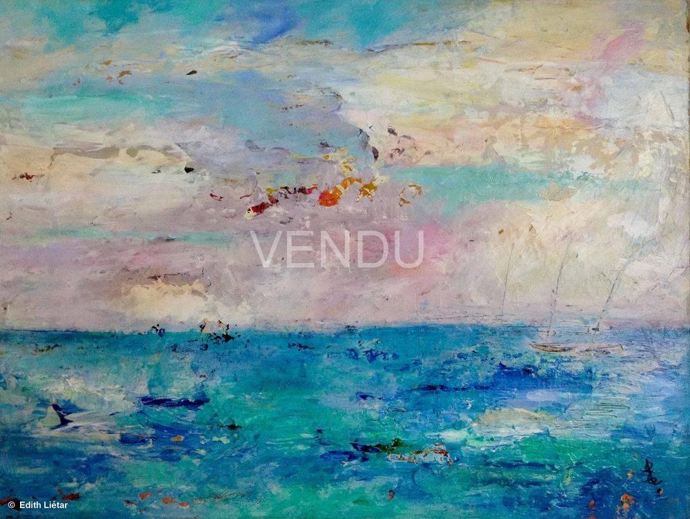 """Acrylique sur panneau, 18'x24"""", VENDUE SOLD"""