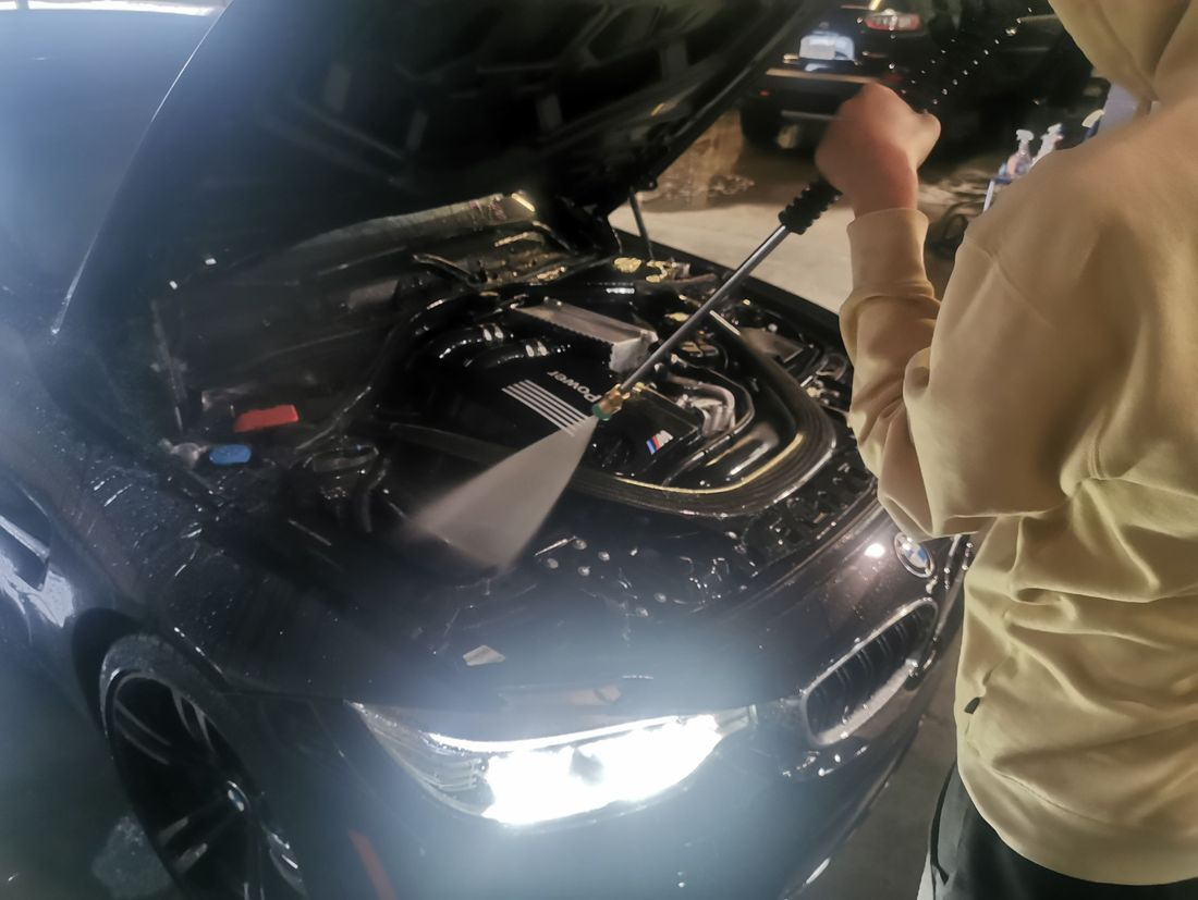 mobile car detailing, trim restoration, Gwinnett Auto Appearance