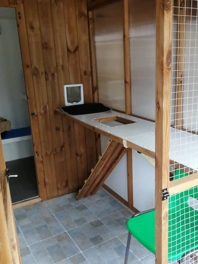Cattery accommodation for 7 chalets