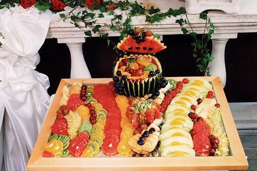 Fruit Display For Special Events and Weddings