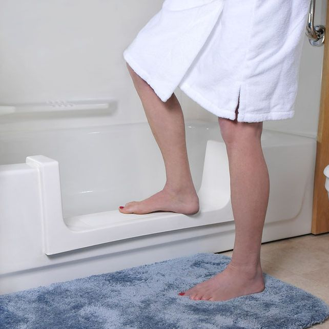 tub to shower conversion , tub door kits , tub door insert kits , step thru kits