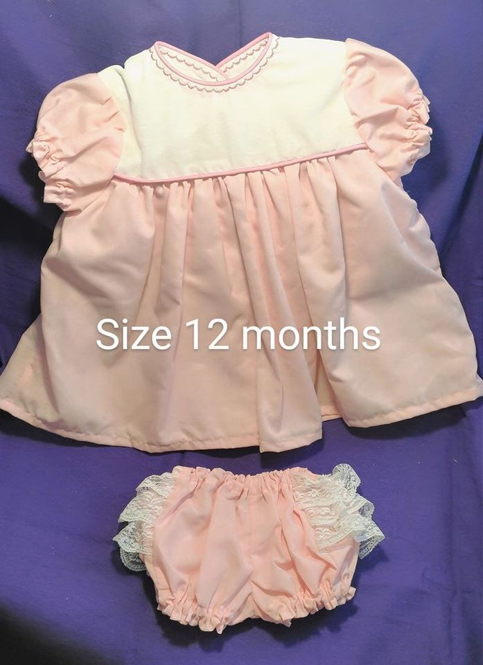 Baby Dress, Infant Dress, Baby Clothes, Easter Dress, Summer Dress, Pink Dress,