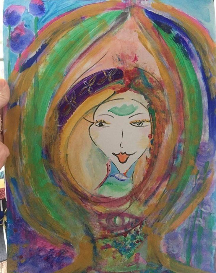 Healing arts, art coach, guide, colorfull