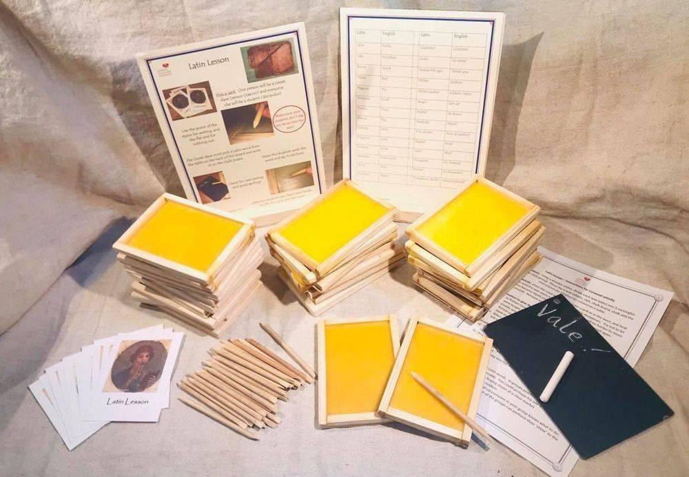 Roman Wax Tablet School History Resource Pack KS2 Primary