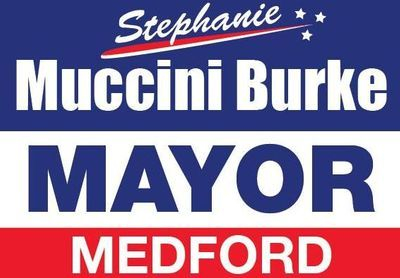 Medford Mayor Stephanie Muccini Burke For Re-Election