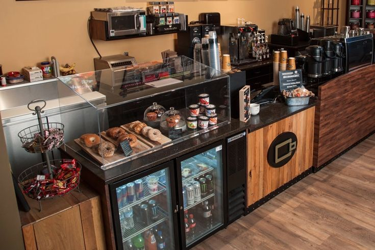 Fort Lauderdale Coffee Beanery service area cabinets, equipment & displays